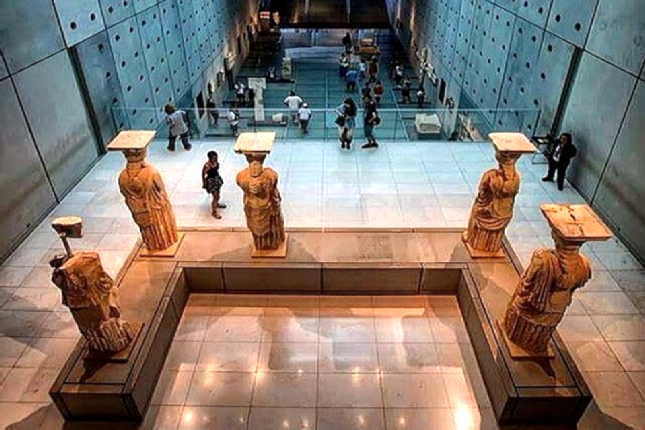 Acropolis museum tours