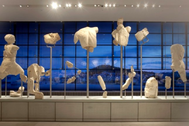 Acropolis museum exhibits