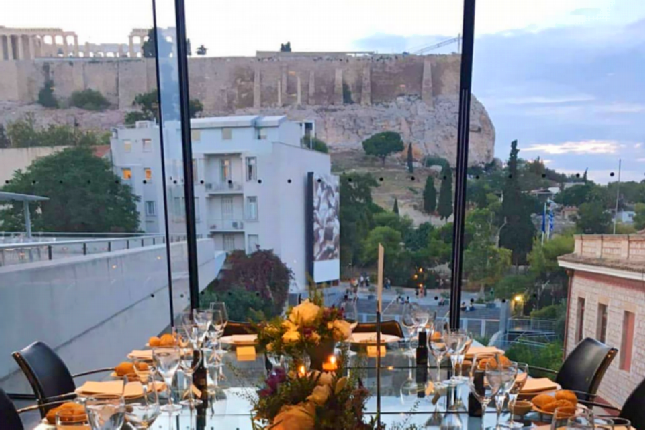 Acropolis museum restaurant