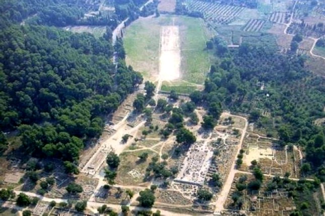 ancient Olympia archeological site