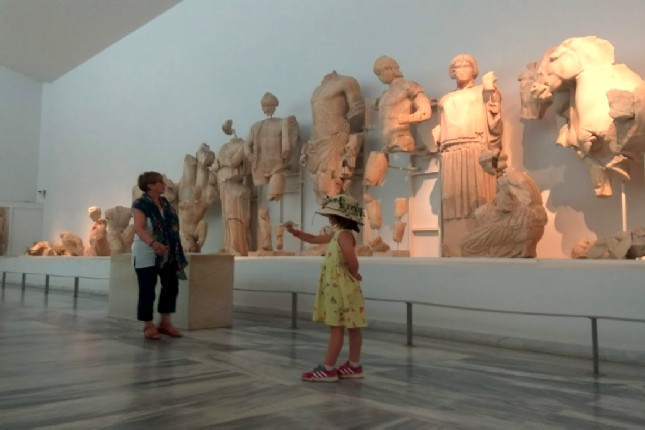 Ancient Olympia Museum kid friendly tour