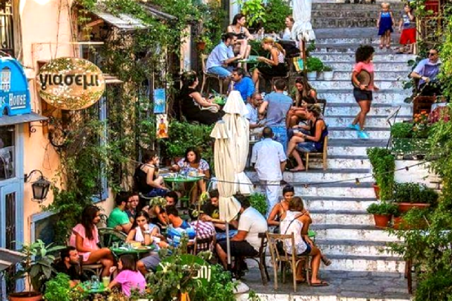Athens cafes