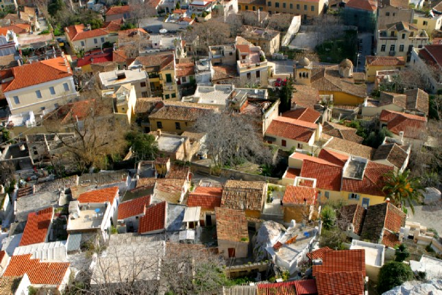 Athens rooftops