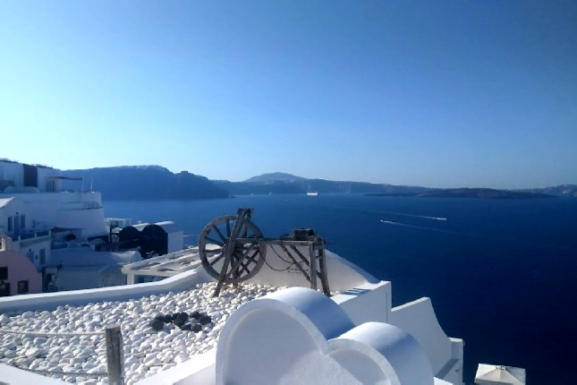 Best views in Santorini
