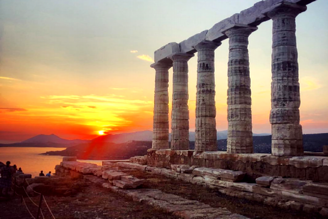 Cape Sounion and Athenian Riviera beach escape