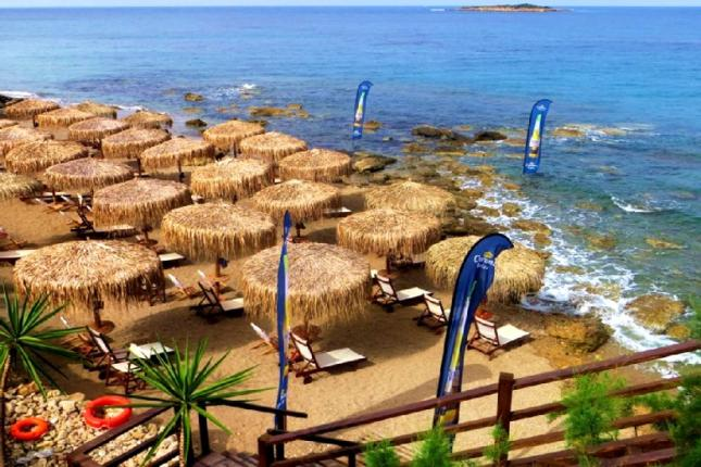 Free time at Agios Andreas Beach