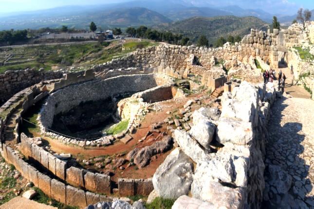 Grave Circle Mycenae
