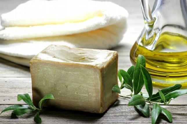 Greek olive oil soap