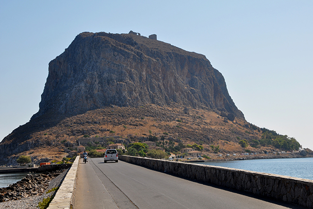 Monemvasia the way