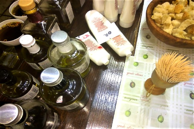 olive oil products from Olympia