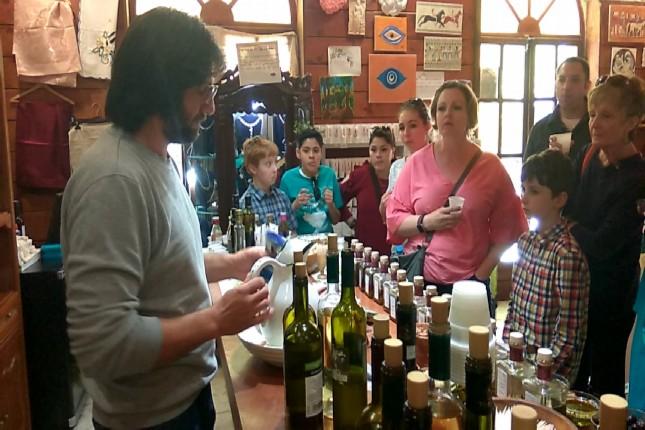 olive oil tasting in Olympia