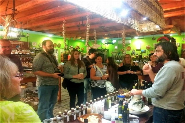 Olympia olive oil tasting tour