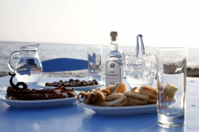 Ouzo - The National Drink of Greece