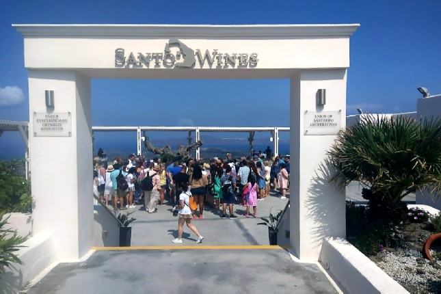 Santorini best wineries