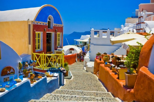 Santorini - Village of Oia