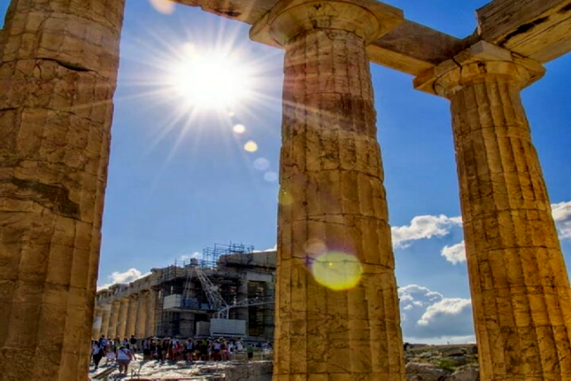 Sounion and Athens tour
