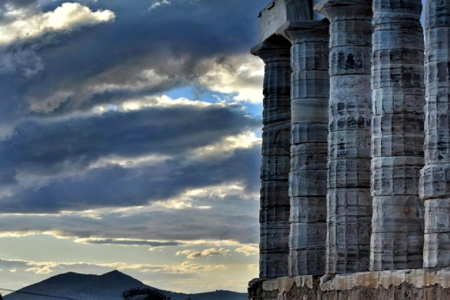 Temple of Poseidon in Sounion