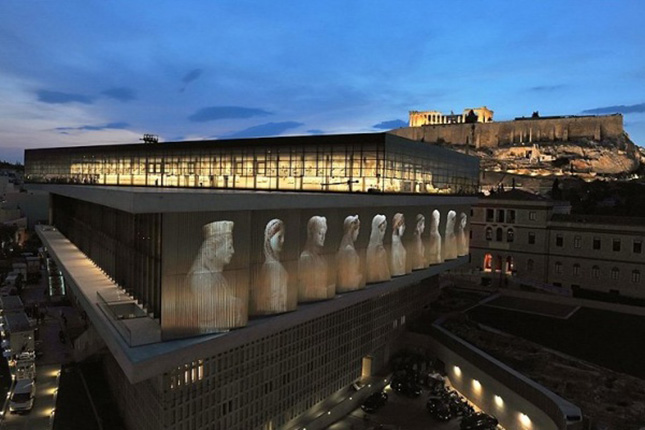 the highlights of Athens full day the Acropolis museum