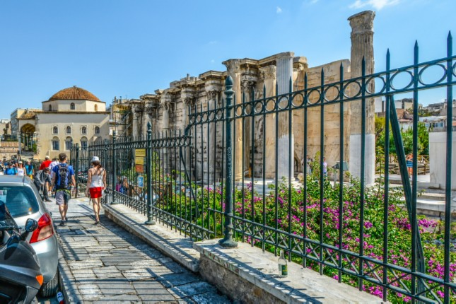 The Modern Side of Athens