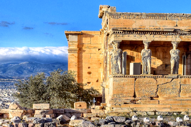 Visit the Acropolis in September