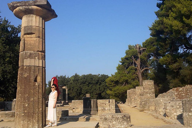 ANCIENT OLYMPIA -  OLYMPIA 16
