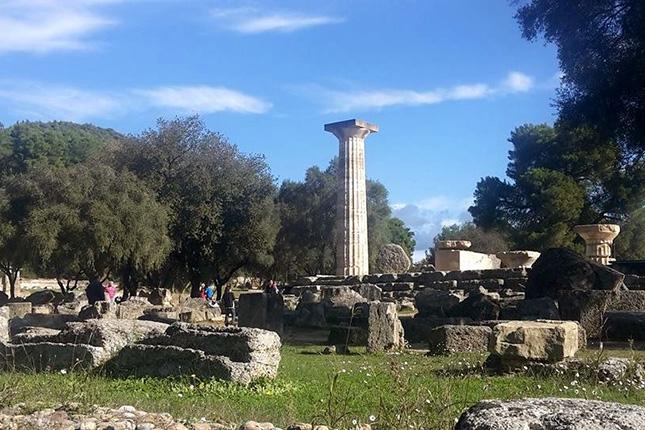 ANCIENT OLYMPIA -  OLYMPIA 6