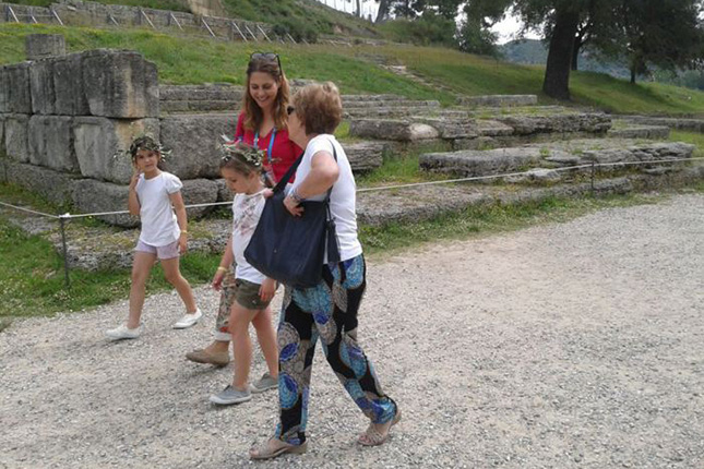 Ancient Olympia & kids 12
