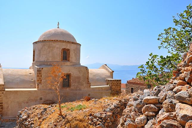 Monemvasia Castle Town - The Hidden Gem of the Medieval Peloponnese 1