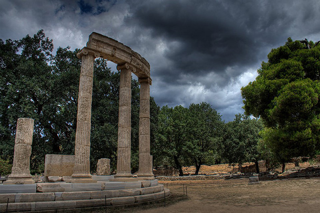 """Archimedes' """"Eureka"""" & Archeological site of Olympia 3"""