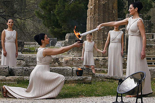 Ancient Olympia & kids 3