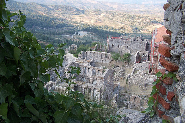 Mystras, The Castle Town with a stop in Sparta 4