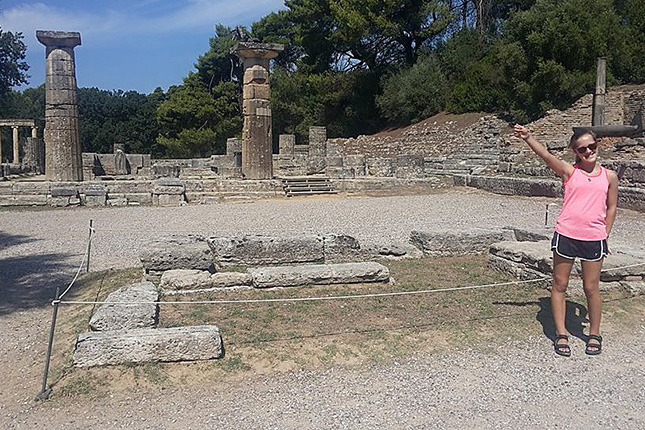 "Archimedes' ""Eureka"" & Archeological site of Olympia 6"