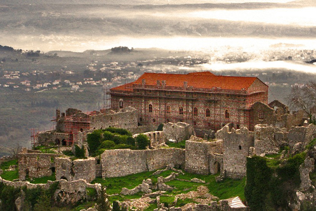 Mystras, The Castle Town with a stop in Sparta 6