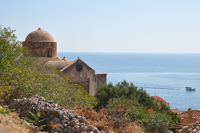 Monemvasia Castle Town - The Hidden Gem of the Medieval Peloponnese 7