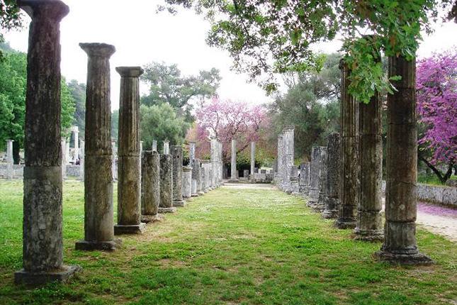 The Highlights of Olympia – site, monastery and Agios Andreas beach 09