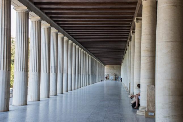 Athens budget tour