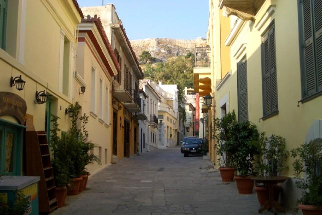 Athens Plaka tour