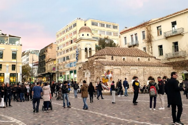 Athens sights and food tour