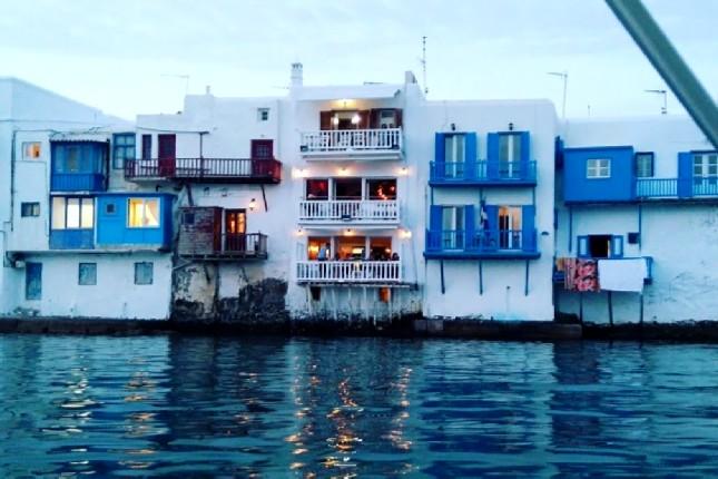 Mykonos Little Venice boat tour