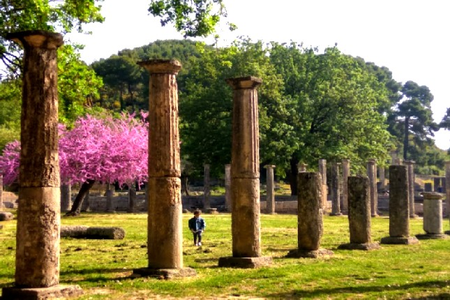 Olympia in spring tours