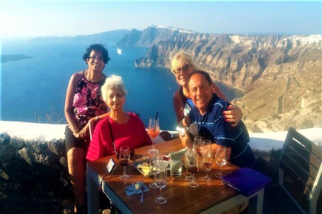 photogenic Santorini private tour
