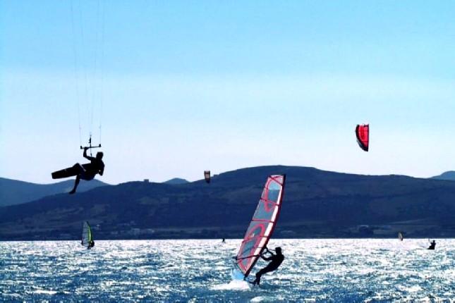 Santorini water sports