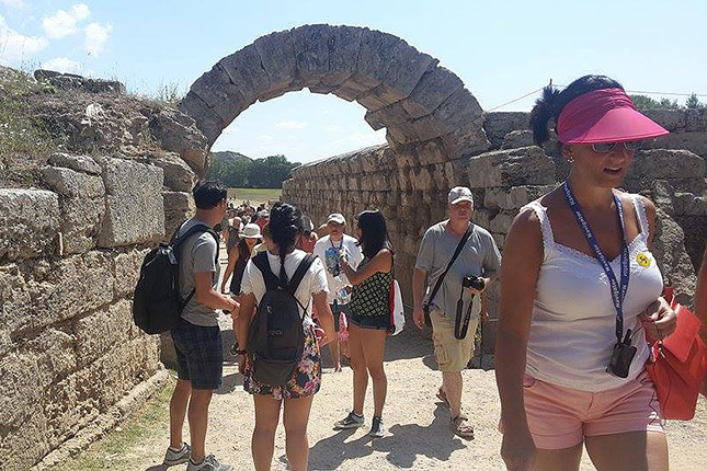 joined Ancient Olympia tour