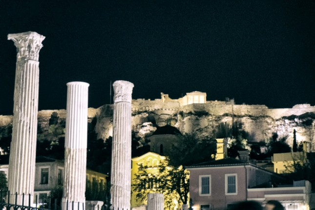 Sunset tour - Lycabettus Hill and the Acropolis site