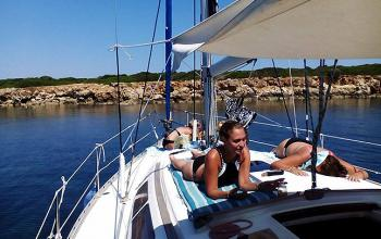 A Sailing Experience At Katakolon - the Ionian Sea 01