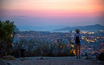Athens sunset tour - Lycabettus Hill and Acropolis site