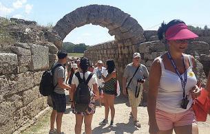 ANCIENT OLYMPIA -  OLYMPIA 19