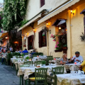 The Plaka District in Athens
